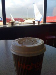 Coffee at Melbourne Airport