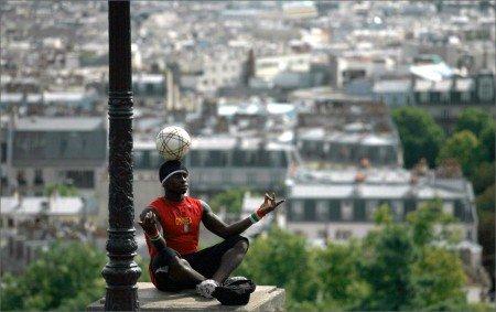 Football meditation by Pavitrata